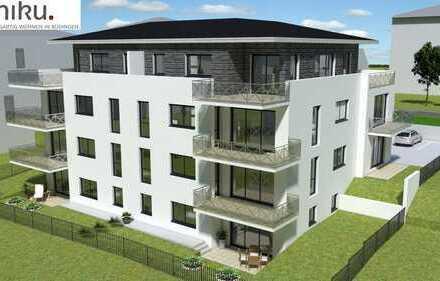 Yuniku. Einzigartig Wohnen in Büdingen. Moderne 3 Zimmer Wohnung mit eigenem Garten