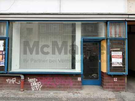 In guter Lage von Schöneberg -Bezugsfreie Gewerbeeinheit als Büro oder Ladenlokal -voll unterkellert