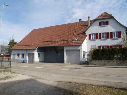 Schönes Bauernhaus mit 2 Wohnungen, Scheune und Offenstall für Pferde auf der Schwäbischen Alb