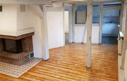 Frisch renovierte Maisonette Wohnung mit Fachwerk