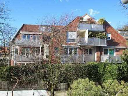Duisburg-Kaiserberg/100 m² EG-Wohnung, Einbauküche, TG-Stellplatz und mit pflegeleichtem Eigengarten