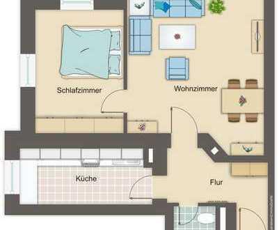 Sanierte 2-Zimmer-ETW als kleines Investment in Dresden
