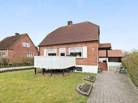 Ein Einfamilienhaus direkt im Herzen von Padborg....