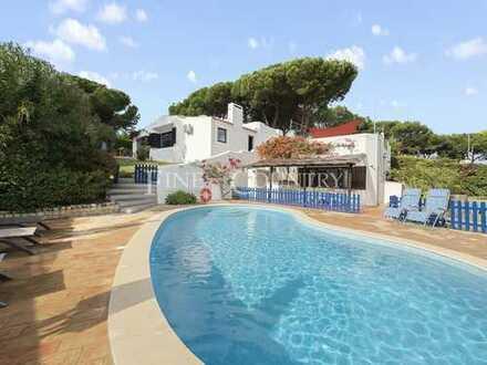 ALBUFEIRA / Olhos de Água – Charmante 4-SZ Villa mit Pool