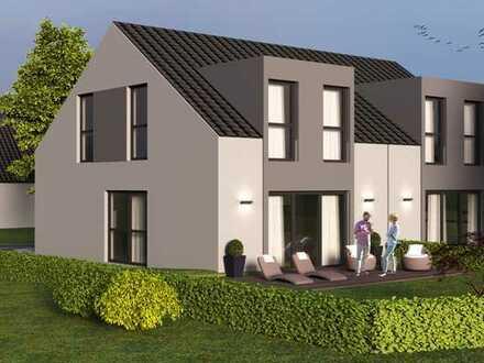 Doppelhaushälfte mit sonnigem Grundstück in Toplage am Ende einer Sackgasse