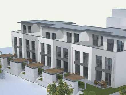 Neubau Reihenhaus mit Carport und Außenstellplatz