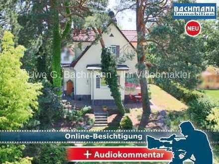 Schulzendorf: Schönes EFH in ruhiger Hanglage mit gr. Garten - UWE G. BACHMANN