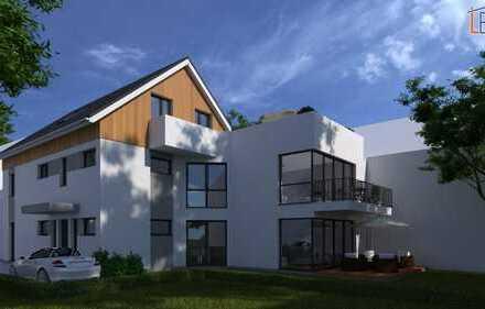 ProfiConcept: Dreieich, Neubau-Zweifamilienhaus in begehrter Lage mit sonniger Südausrichtung