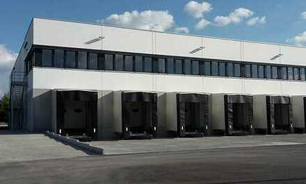 """BAUMÜLLER & CO."" - ca. 10.000 m² Hallenfläche - Rampen- /ebenerdige Andienung - Nähe A5 / A67"