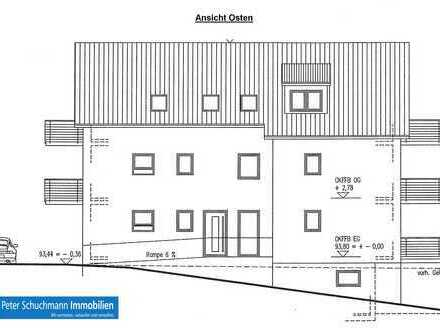Griesheim!**NEUBAU-Erstbezug! Barrierefreie 4 Zimmerwohnung im EG mit Terrasse, Balkon und Garten**