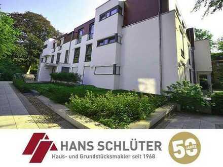 Wohnen in der Villa Pro Vita! Helle 4 Zimmer Wohnung mit 2 Sonnenterassen in Schwachhausen!