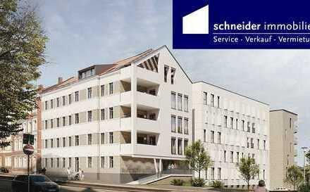 ICE-City-Erfurt - Erstbezug mit Sanierungs-AfA, Wohnen/Kochen/Essen ca. 51m², 2 Bäder, Südbalkon...