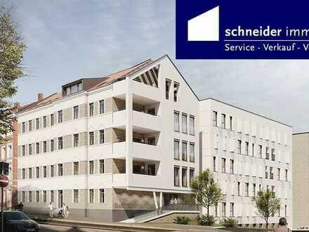 Letzte Wohnung in dieser Größe! Sanierungs-AfA, Wohnen/Kochen/Essen ca. 51m², 2 Bäder, Südbalkon...