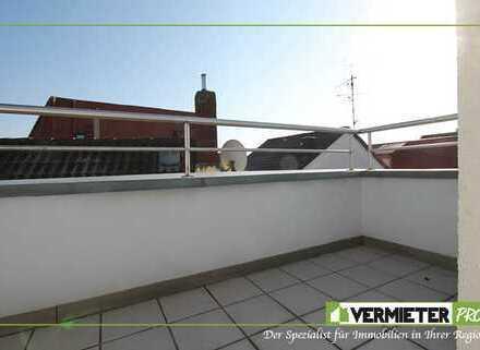 !! provisionsfrei !! Lichtdurchflutete 2-Zi.DG.Wohnung mit 2 Balkonen in Flughafennähe