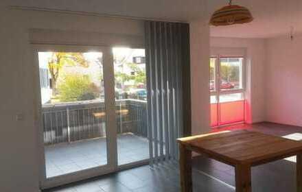 Bellheim: Wohnen und arbeiten in einer eleganten Etagenwohnung mit Einbauküche