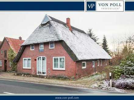 Schönes Reetdachhaus mit viel Potenzial und großem Grundstück