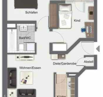 super gemütliche Wohnung für Singels oder kleine Familien