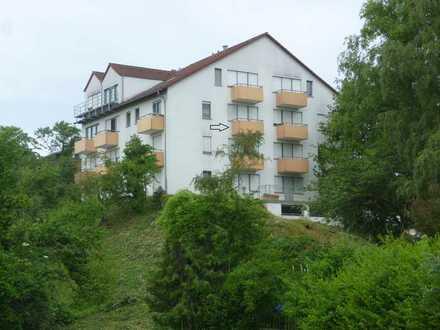 Gepflegte 1 Zimmer Appartement-Wohnung, Balkon, TG-Platz, Bad, Wochenendpendler