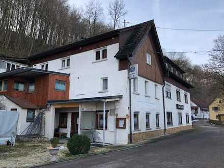Pension mit 10 Zimmern und Gaststätte in Burgberg