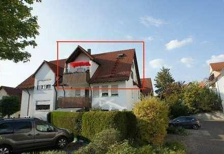 + pfiffige Wohnung mit Balkon in guter Wohnlage +