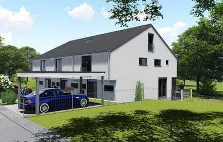 Neubau Reiheneckhaus in Windach