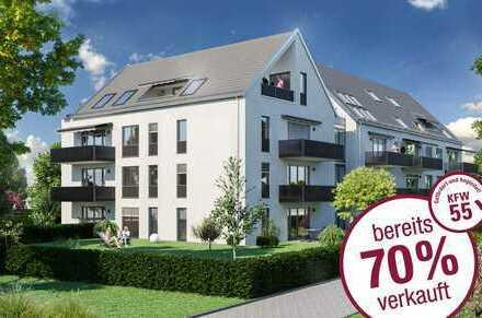 Provisionsfrei vom Bauträger! Neubau in Göggingen-exkl. 2 Zi-Whg. mit Balkon in Südausrichtung + TG!