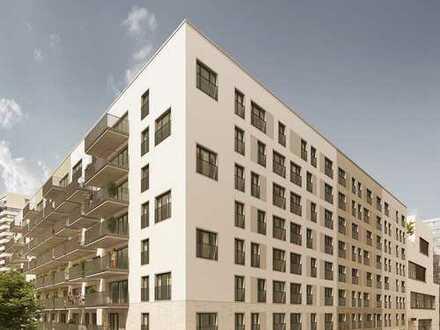 Erstbezug: exklusive 1-Zimmer-Wohnung mit EBK und Balkon in Frankfurt am Main