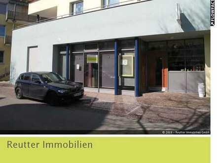 Modernes Ladengeschäft in Münsingens Mitte