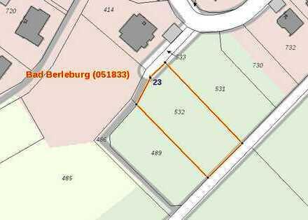 Großes Baugrundstück (mit Wiesenparzelle?) in Bad Berleburg
