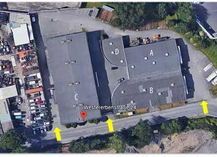 7.717m² Produktions- und Lagerhalle mit Büroflächen