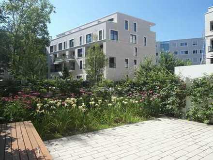 Voj Immobilien: Gartenterrassenwohnung in Köln-Bayenthal