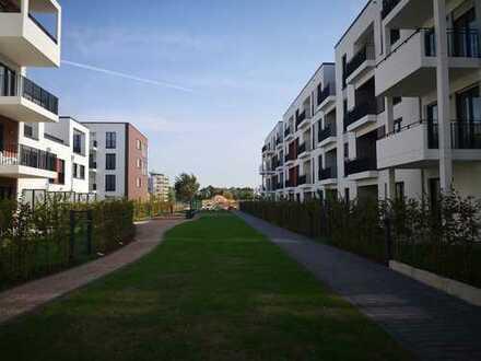 Erstbezug: exklusive 4-Zimmer-EG-Wohnung mit EBK und Balkon in Düsseldorf