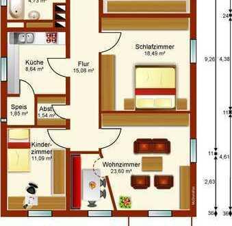 Wohnung in der Sparkasse Waidhaus