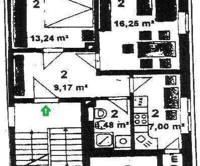 **hübsche 2-Raum Wohnung mit Stellplatz in Zwickau-Oberhohndorf zu vermieten**