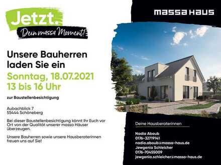 Baustellenbesichtigung (LS 18.07 S) in Schöneberg am 18.07.21 von 13 - 16 Uhr (Aubachblick 7)