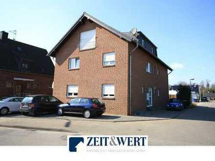 Gymnich! Solide Kapitalanlage! 2-Zimmer-Maisonette mit Balkon + 60 m² (Büro-)Einheit! (LR 3849)