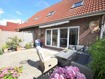 Neuwertiges Reihenmittelhaus auf pflegeleichtem Grundstück in Emden (OT Larrelt)
