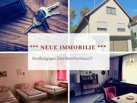 Zweifamilienhaus mit Ladenfläche im Retro Style in 89343 Jettingen-Scheppach!