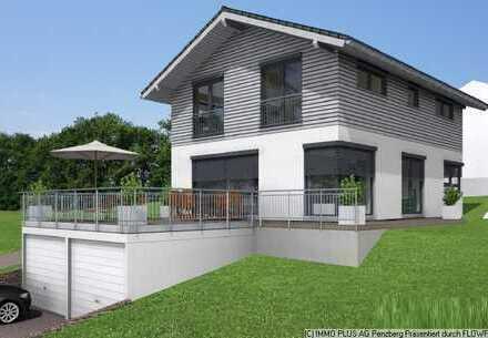TOP Wohnlage mit Blick - Neubau KFW 55 EFH in Penzberg