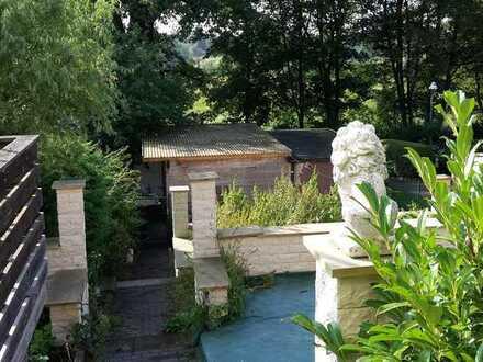vermiete Zimmer im Haus mit Gartennutzung, mit Blick aufs Tegler Fließ