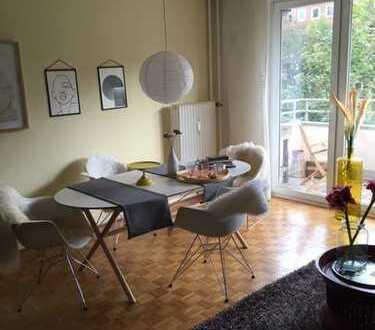 """Wohnen am """"Blücher"""" - 3 Zimmer Wohnung mit zwei Balkonen"""