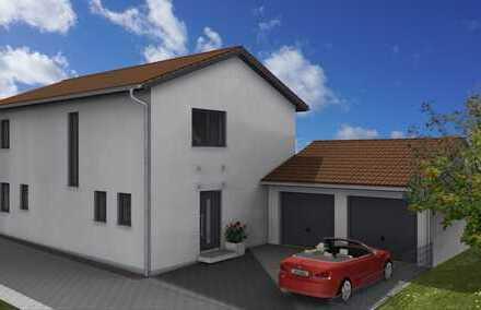 Neubau – Modernes Einfamilienhaus mit Doppelgarage