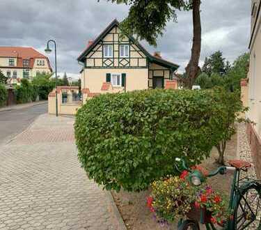 Einfamilienhaus Erstbezug zu vermieten in Leipzig- Miltitz im Fachwerkstil