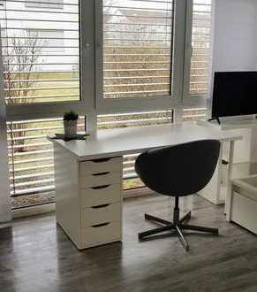 Exklusive, neuwertige & vollmöbelierte 2-Zimmer-Erdgeschosswohnung mit Einbauküche in Reutlingen