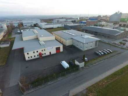 Airportnähe: * 2 Produktionshallen mit Bürogebäude Büren-West *
