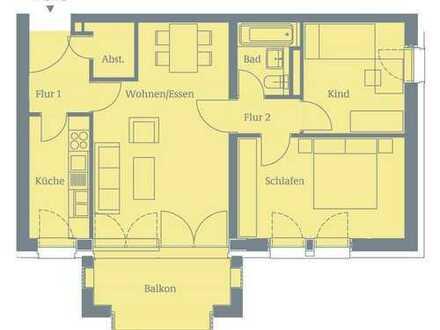 Helle 3-Zimmer Wohnung, direkt an der U-Bahn
