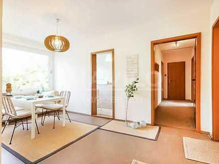 Freundliche 3-Zimmer- Wohnung + Balkon in Hannover Döhren gelegen