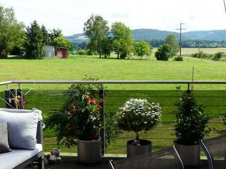 Schickes Penthouse mit Mega-Aussicht und großer Gewerbefläche Schweizer Grenze!