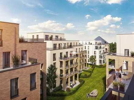 4-Zi. Penthouse mit großem Tageslichtbad, 2 Bädern, Westdachterrasse und separater Küche