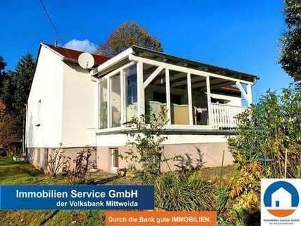 Gepflegtes Einfamilienhaus für die kleine Familie mit schönem Grundstück